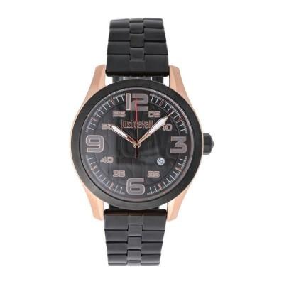 ジャストカヴァリ Just Cavalli 腕時計  腕時計、アクセサリー  メンズ腕時計  腕時計 ブラック