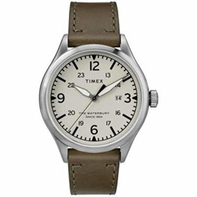 腕時計 タイメックス メンズ Timex The Waterbury Quartz Movement Cream Dial Men's Watch TW2R71100