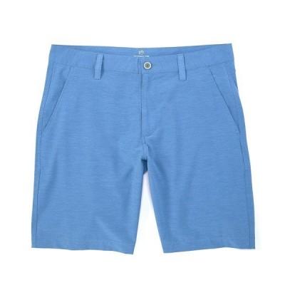 サウザーンタイド メンズ ハーフ&ショーツ ボトムス Heathered T3 Flat-Front 9#double; Inseam Gulf Shorts Heather Endless Blue
