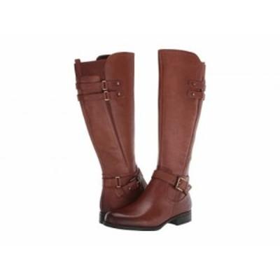 Naturalizer ナチュラライザー レディース 女性用 シューズ 靴 ブーツ ロングブーツ Jackie Cinnamon Leather【送料無料】