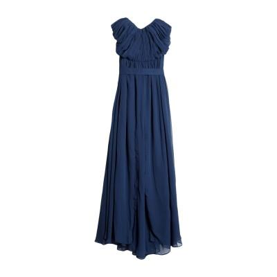 BY MALINA ロングワンピース&ドレス ダークブルー M ポリエステル 95% / ポリウレタン 5% ロングワンピース&ドレス
