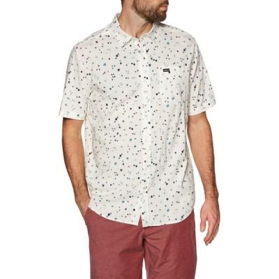 ルーカ RVCA メンズ 半袖シャツ トップス calico short sleeve shirt Antique White