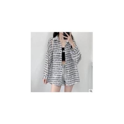 【カーディガンジャケット】シャツ オーバーサイズ ジャケット シースルー素材 レディース 紫外線対策 フリーサイズ ホワイト