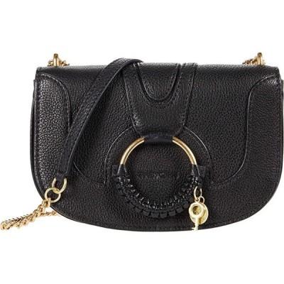 シーバイクロエ Hana Chain Crossbody Bag レディース ハンドバッグ かばん Black