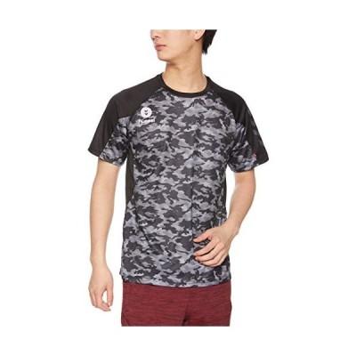 ヒュンメル トレーニングウェア ドライTシャツ メンズ HAY2082 ブラック 90 M サイズ