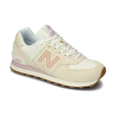 ニューバランス(New Balance) レディース スニーカー WL574 NR2 Bウィズ ホワイト WL574 NR2 B カジュアルシューズ ジョギング トレーニング スポーツ 靴