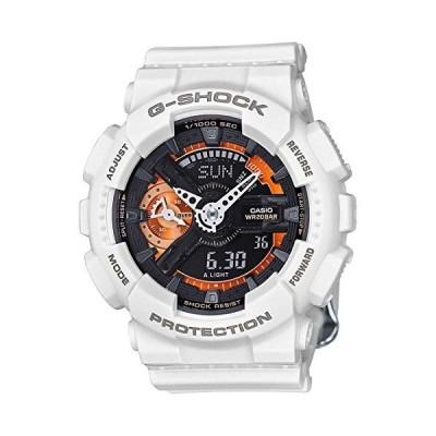 腕時計 カシオ メンズ CASIO-GMAS110CW-7A2CR Casio G-Shock Black Dial Resin Quartz Men's Watch GMAS110C