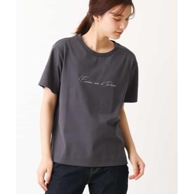 a.v.v / ロゴTシャツ WOMEN トップス > Tシャツ/カットソー