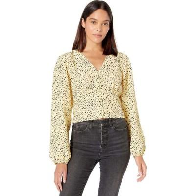 リーバイス Levi's Womens レディース ブラウス・シャツ トップス Sophia Long Sleeve Button Top Scattered Floral Golden Haze