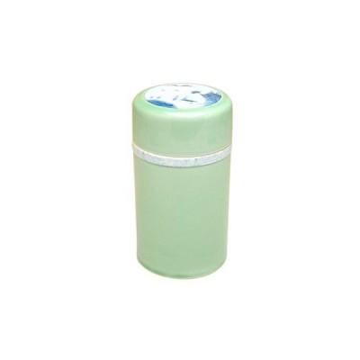 【有田焼】緑釉山水 魔法茶筒