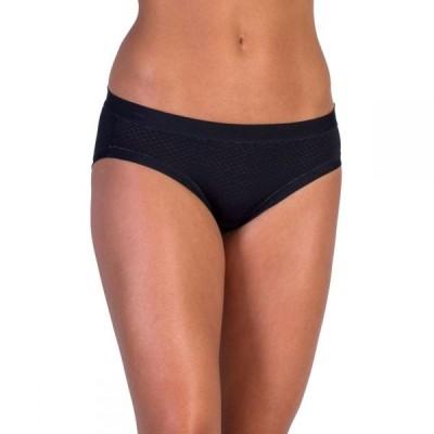 エクスオフィシオ EXOFFICIO レディース ショーツのみ インナー・下着 give-n-go sport mesh bikini briefs BLACK