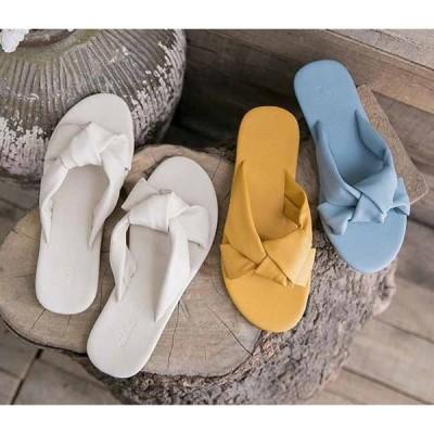 カワイイフラットサンダルレディース靴歩きやすいローヒール美脚靴シューズレディーススリッパ滑り止めビーチスリッパ夏トレンド