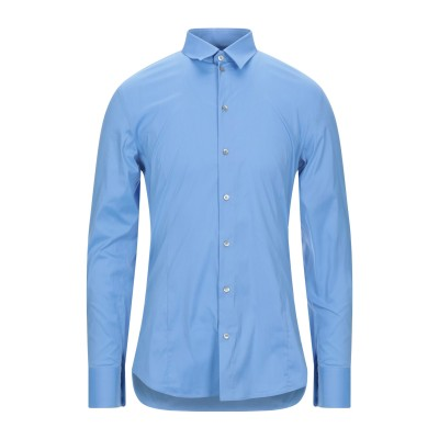 パトリツィア ペペ PATRIZIA PEPE シャツ アジュールブルー 54 コットン 70% / ナイロン 27% / ポリウレタン 3% シャツ