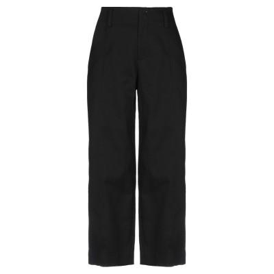 VINCE. パンツ ブラック 14 コットン 89% / リネン 10% / ポリウレタン 1% パンツ