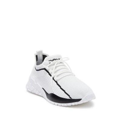 ポニー メンズ スニーカー シューズ Rocky Knit Sneaker WHITE/BLACK