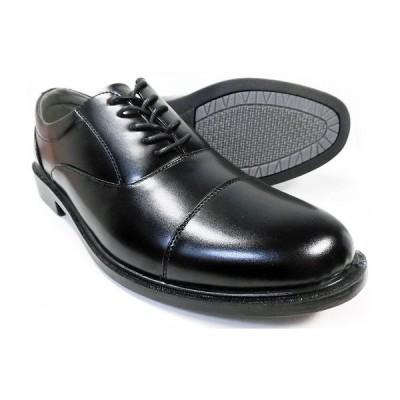 SLOVGH 内羽根ストレートチップ(キャップトゥ)ビジネスシューズ(大きいサイズ 紳士靴)黒 ワイズ3E(EEE)28cm(28.0cm)、29cm(29.0cm)、30cm(30.0cm)