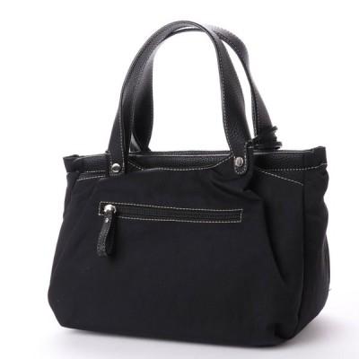 PIEMONTE LUSSO (ピエモンテルッソ) MANE(モーネ)3561 ナイロン軽量ハンドバッグ (ブラック)