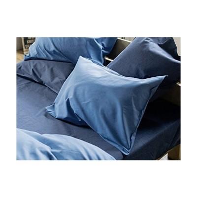 Fab the Home 枕カバー・ピローケース ブルー 50x70cm用 ライトデニム FH113855-300