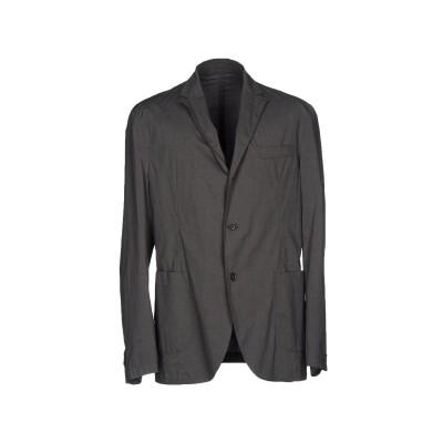 MONTEDORO テーラードジャケット 鉛色 50 95% コットン 5% ポリウレタン テーラードジャケット
