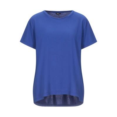 アスペジ ASPESI T シャツ ブライトブルー XL コットン 100% T シャツ