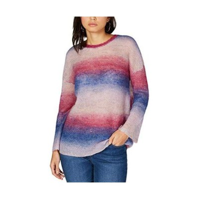 INC Womens Wool Blend Ombre Pullover Sweater Purple M並行輸入品 送料無料
