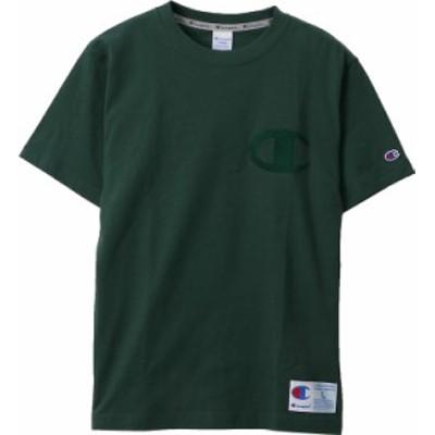 チャンピオン Tシャツ(ダークグリーン・サイズ:M) Champion T-SHIRT アクションスタイル メンズ/ユニ CH-C3-M358-570-M【返品種別A】