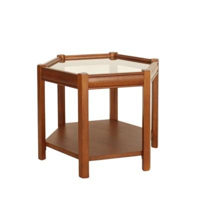 アクメ ファニチャー 《中型商品》BROOKS HEXAGON TABLE glass ブルックスヘキサゴンテーブル その他カラー K フリー