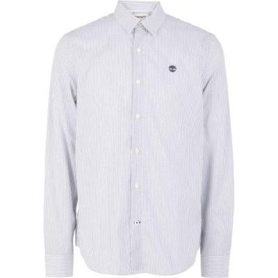 ティンバーランド TIMBERLAND メンズ シャツ トップス striped shirt White