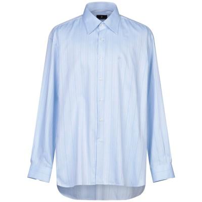 ロッコバロッコ ROCCOBAROCCO シャツ スカイブルー 47 コットン 100% シャツ