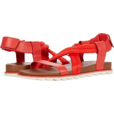 ソレル SOREL レディース サンダル・ミュール シューズ・靴 Roaming(TM) Decon Sandal Signal Red