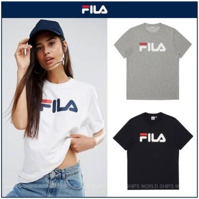フィラ Tシャツ レディース FILA ロゴ Tシャツ メンズ 半袖 テニス スポーツウェア トップス オーバーサイズ ボーイフレンド Tシャツ 海外限定正規品