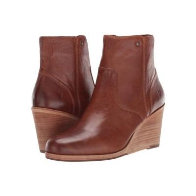 フライ Frye レディース ブーツ ウェッジソール シューズ・靴 Emma Wedge Short Tan