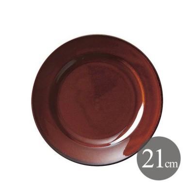 デザート皿 21cm アメ 6個 カネスズ エクシブ(00522377-6P)キッチン、台所用品