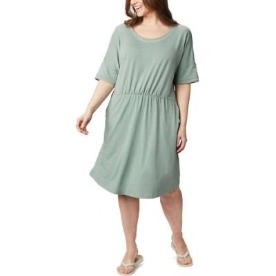 コロンビア Columbia レディース ワンピース ワンピース・ドレス Slack Water Knit Dress Light Lichen