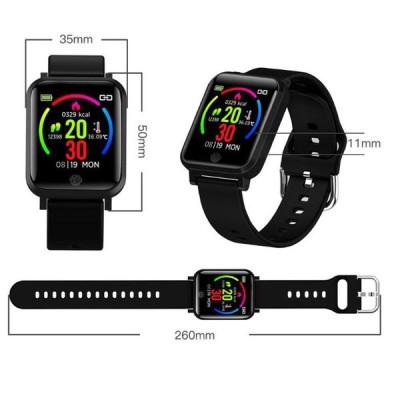 スマートウォッチ 体温測定 パルスオキシメーター機能付 着信通知 心拍計 多機能スマートウォッチ メンズ レディース スマートブレスレット