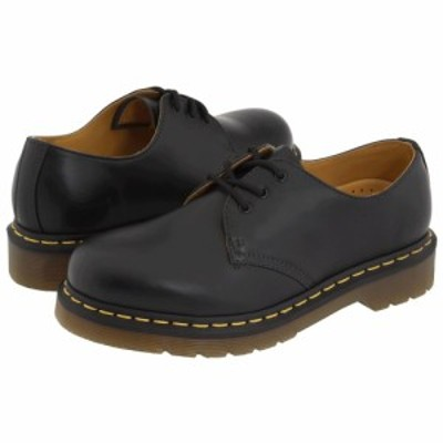 ドクターマーチン Dr. Martens レディース ローファー・オックスフォード シューズ・靴 1461 3-Eye Gibson Black Smooth