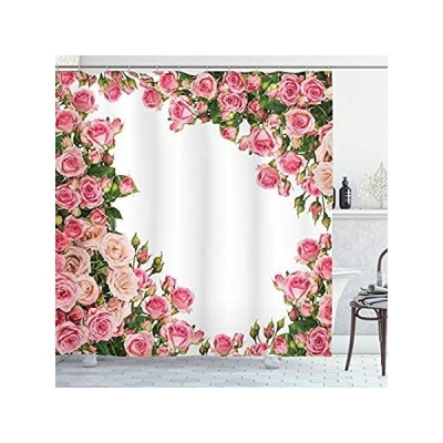 (180cm W By 180cm L, Multi 8) - Ambesonne Roses Decorations Collection, Ros