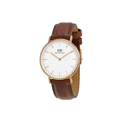 ダニエルウェリントン 腕時計 Daniel Wellington クラシック St Mawes ホワイト ダイヤル レディース 腕時計 0507DW