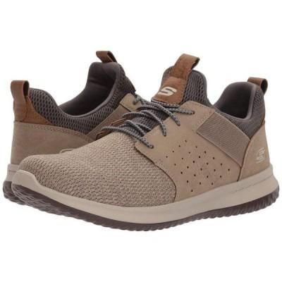 スケッチャーズ SKECHERS メンズ シューズ・靴 Classic Fit Delson Camben Taupe