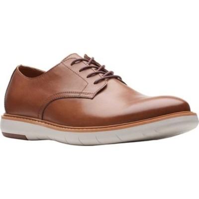 クラークス ドレスシューズ シューズ メンズ Draper Lace Up Oxford (Men's) Tan Full Grain Leather