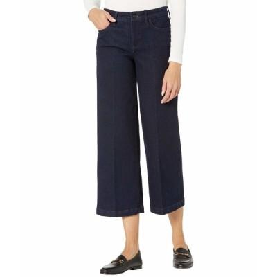 エヌワイディージェイ デニムパンツ ボトムス レディース Teresa Wide Leg Ankle Jeans in Rinse Rinse