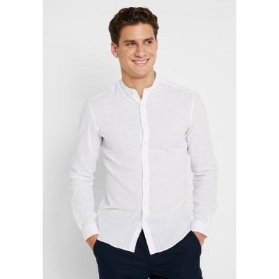 リンドーバーグ シャツ メンズ トップス Shirt - white