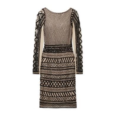 アリス・アンド・オリビア ALICE + OLIVIA ミニワンピース&ドレス ベージュ 6 ナイロン 100% ミニワンピース&ドレス