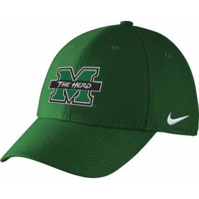 ナイキ メンズ 帽子 アクセサリー Nike Men's Marshall Green Adjustable Hat -
