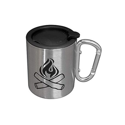 特別価格Camping Mug - Double Walled Stainless Steel Tea and Coffee Camping Cup With好評販売中