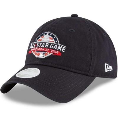 レディース スポーツリーグ メジャーリーグ New Era Women's 2018 MLB All-Star Game Team Glisten 9TWENTY Adjustable Hat - Navy - OSFA