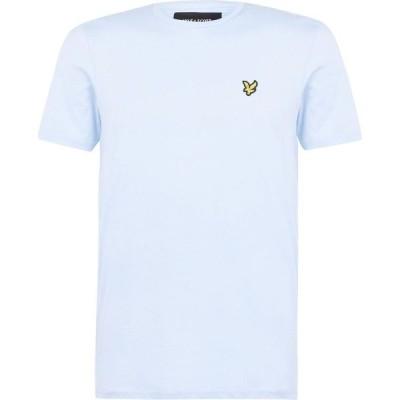 ライル アンド スコット Lyle and Scott メンズ Tシャツ ロゴTシャツ トップス Basic Logo T Shirt Pool Blue Z