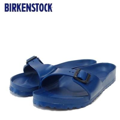 BIRKENSTOCK (ビルケンシュトック) EVA MADRID 128173 (NAVY) マドリッド サンダル メンズ レディース シャワーサンダル 幅狭
