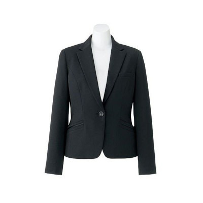 ボンマックス BONOFFICE ジャケット ブラック 5号 AJ0256-16 1着(直送品)