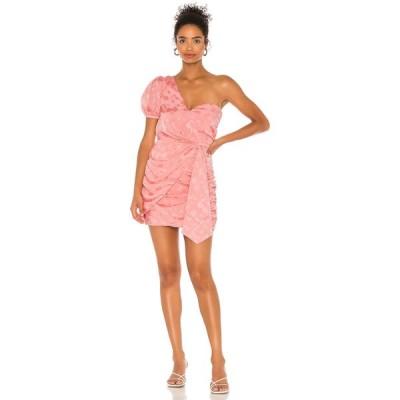 マジョレル MAJORELLE レディース ワンピース ミニ丈 ワンピース・ドレス Maddison Mini Dress in Pretty Pretty in Pink